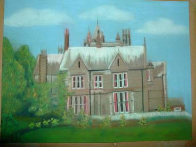 Swarcliffe Hall Print by Mark Dermody