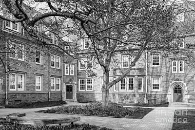 Swarthmore College Wharton Hall Art Print by University Icons