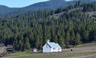 Photograph - Swauk Teanaway Grange by Tom Cochran