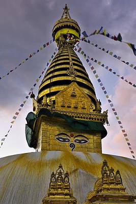 Nepal Photograph - Swayambhunath Stupa by Ivan Slosar