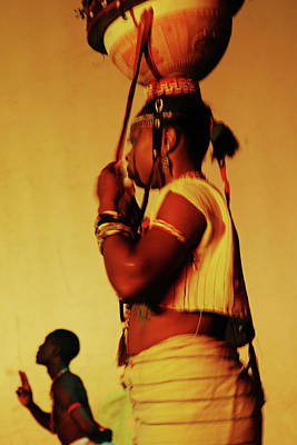 Photograph - Swaying Fulani Lady by Muyiwa OSIFUYE