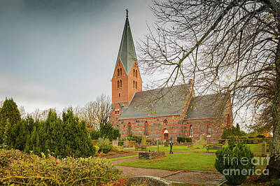 Photograph - Swedish Brick Church by Sophie McAulay