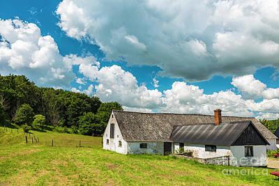 Photograph - Swedish Farm House by Antony McAulay