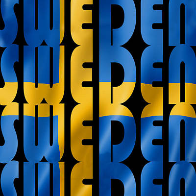 Photograph - Swedish Flag by Andrew Fare