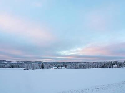 Photograph - Swedish Lapland In Winter by Tamara Sushko