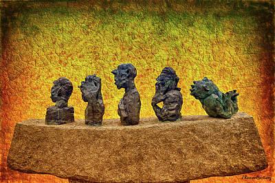 Sweden Digital Art - Swedish Sculpture by Ramon Martinez