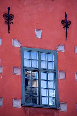 Photograph - Swedish Window Dressing by Eric Tressler