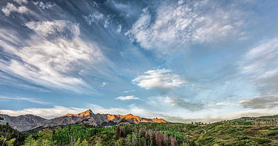 Photograph - Sweeping Clouds by Jon Glaser