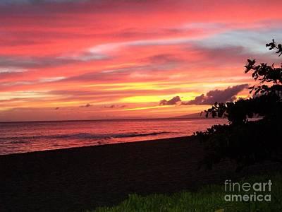 Photograph - Sweeping Sunset Ko'olina Ohahu Hawaii by Heather Kirk