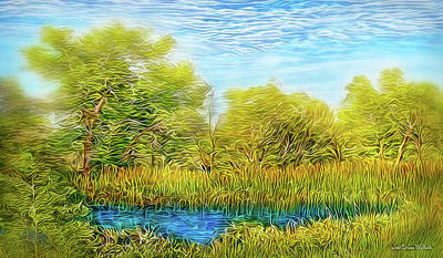 Digital Art - Sweet Afternoon Breeze by Joel Bruce Wallach