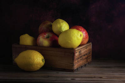 Sweet And Sour Fruits Still Life Art Print