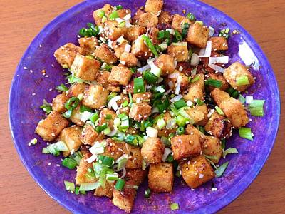 Photograph - Sweet And Sour Tofu by Polly Castor