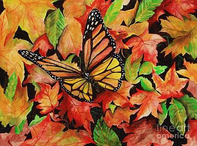 Painting - Sweet Autumn by Laneea Tolley