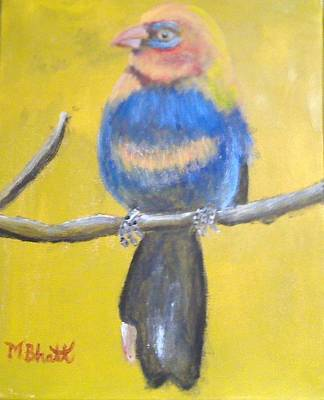 Painting - Sweet Bird by M Bhatt