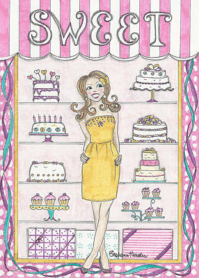 Mixed Media - Sweet Birthday by Stephanie Hessler