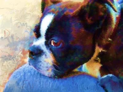 Painting - Sweet Boston Betty by Cindy Wright