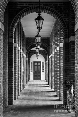 Sweet Briar College Benedict Hall Walkway Art Print by University Icons