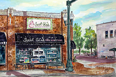 Franklin Tennessee Painting - Sweet Ceces Franklin by Tim Ross