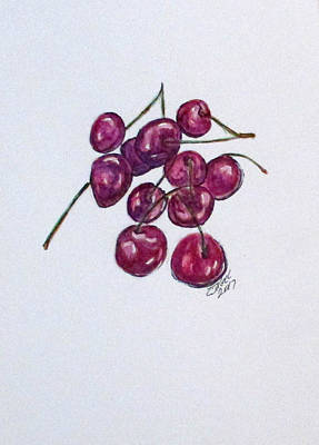 Painting - Sweet Cherry by Clyde J Kell