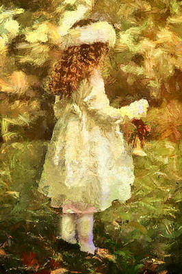 Sweet Child Of Innocent Joy Art Print by Georgiana Romanovna