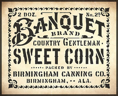 Painting - Sweet Corn Sign 2 by Gary Grayson