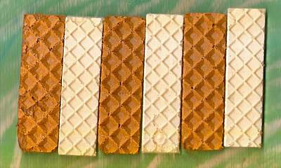 Food And Beverage Mixed Media - Sweet Crackers by Pepita Selles