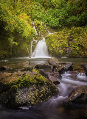 Photograph - Sweet Creek Falls by Jon Ares