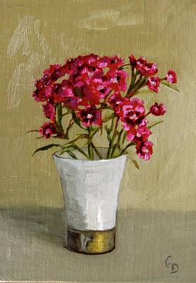 Painting - Sweet Dianthus by Grace Diehl