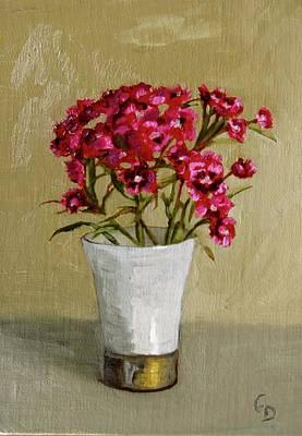 Painting - Sweet Dianthus by Grace Diehl