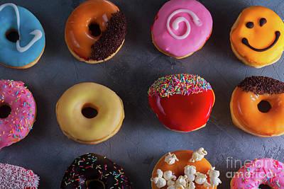 Photograph - Sweet Doughnuts  by Anastasy Yarmolovich