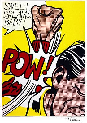 Sweet Dreams Baby - Roy Lichtenstein Art Print