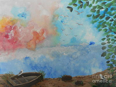 Invitations Painting - Sweet Dreams by Barbara McNeil