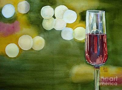 Nightcaps Painting - Sweet Dreams by Bonnie Schallermeir