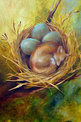 Painting - Sweet Dreams by Dina Dargo