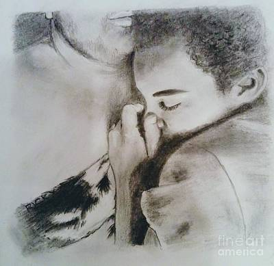 Drawing - Sweet Dreams - Drawing by Veronica Rickard