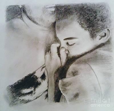 Drawing - Sweet Dreams - Drawing by Veronica Rickard