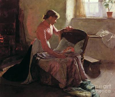 Painting - Sweet Dreams by Edwin Harris