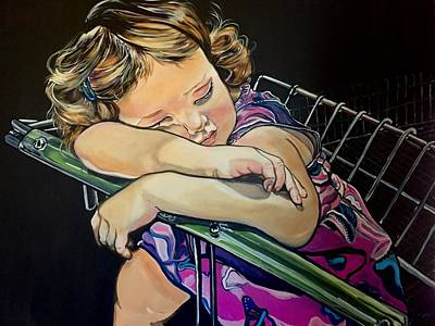 Painting - Sweet Dreams, Geo by Stephanie Come-Ryker