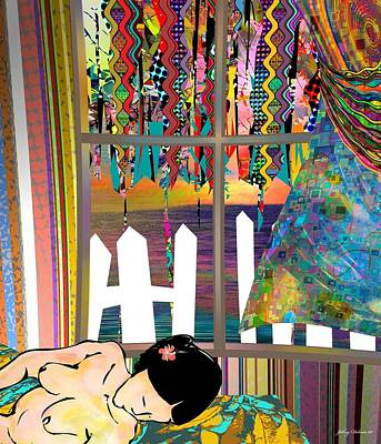 Ocean Sunset Mixed Media - Sweet Dreams by Johny Deluna
