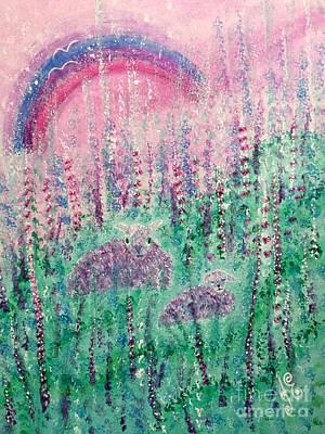 Painting - Sweet Dreams by Julie Engelhardt