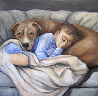 Painting - Sweet Dreams by Laura Aceto