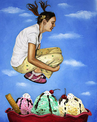 Norman Rockwell Painting - Sweet Dreams by Leah Saulnier The Painting Maniac