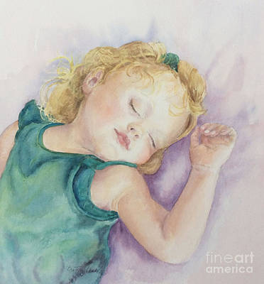 Painting - Sweet Dreams Lucy by Beatrice Cloake