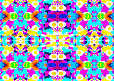 Meditative Digital Art - Sweet Dreams by Robyn Parker