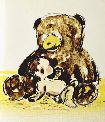 Childsroom Painting - Sweet Dreams by Silk Alchemy