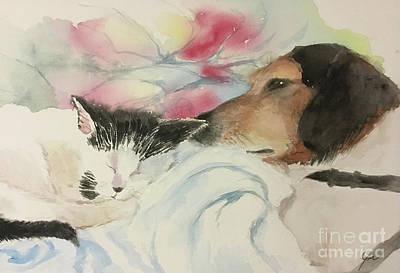 Painting - Sweet Dreams by Yoshiko Mishina