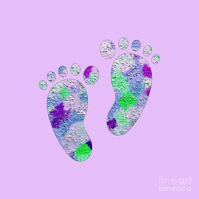 Owls - Sweet Feet by Rachel Hannah