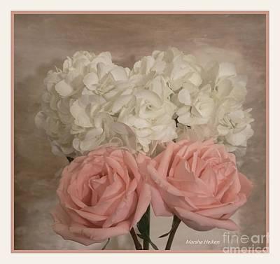 Photograph - Sweet Flower Friends by Marsha Heiken