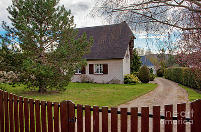 Photograph - Sweet French Home by Erika Weber