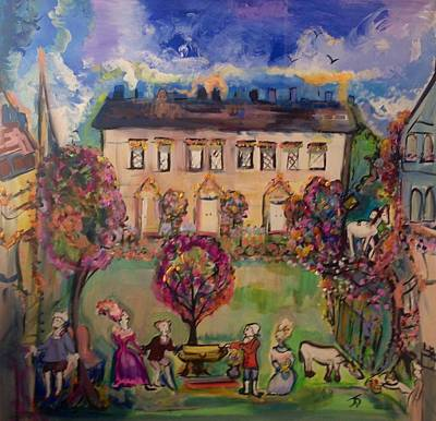 Painting - Sweet Georgian Revisited  by Judith Desrosiers